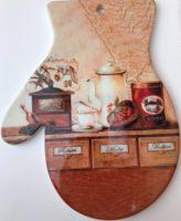 Keramikinis padėklas puodams ir keptuvėms