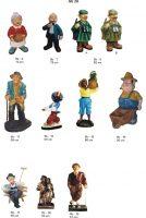 žmones, dekoratyvinės skulptūros, lauko sodo dekoracijos, figuros, lauko sodo statuleles, statulos