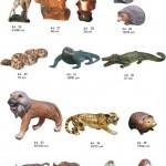 gyvunai, dekoratyvinės skulptūros, lauko sodo dekoracijos, figuros, lauko sodo statuleles, statulos