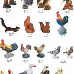 paukščiai, lauko dekoracijos, figuros, lauko sodo statuleles, statulos, dekoratyvinės skulptūros, gyvunu figurėlės, kiemo dekoravimas