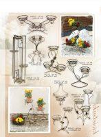 gėlių stovai, stovai gėlėms, metaliniai baldai, interjeras, interjero detalės, interjero aksesuarai