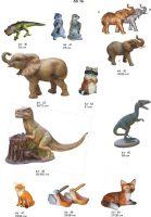 dinozavras, dekoratyvinės skulptūros, lauko sodo dekoracijos, figuros, lauko sodo statuleles, statulos
