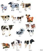 karvė, dekoratyvinės skulptūros, lauko sodo dekoracijos, figuros, lauko sodo statuleles, statulos