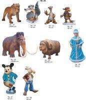 mamuta, dekoratyvinės skulpturos, lauko sodo dekoracijos, figuros, lauko sodo statuleles, statulos