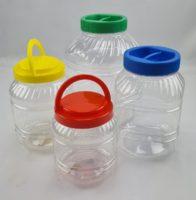 Plastikiniai stiklainiai