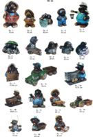 Dekoracijos kiemui KURMIAI dekoratyvinės skulpturos, lauko sodo dekoracijos, figuros, lauko sodo statuleles, statulos, gyvunu figurėlės, kiemo dekoravimas, angelai, peleda, varlės, kurm