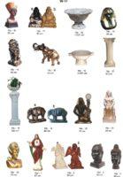 Dekoracijos sodui gyvunu figurėlės, lauko sodo dekoracijos, figuros, lauko sodo statuleles, statulos, gyvunu figurėlės, kiemo dekoravimas, angelai, peleda, varlės, šuniai
