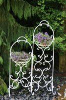 Gėlių stovas (130-88-34cm) , stovas gėlėms, stovas gėlei, gėlių stovai, vazono laikiklis, vazono stovas, vazono padėklas Art.10-1466