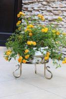 Gėlių stovas (22x27cm) Art.10-1520, stovas gėlėms, stovas gėlei, gėlių stovai, vazono laikiklis, vazono stovas, vazono padėklas