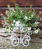 Gėlių stovas (34x34cm) Art.10-1459, stovas gėlėms, stovas gėlei, gėlių stovai, vazono laikiklis, vazono stovas, vazono padėklas