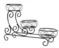 Gėlių stovas (61x90cm) Art.10-1539, stovas gėlėms, stovas gėlei, gėlių stovai, vazono laikiklis, vazono stovas, vazono padėklas