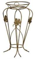 Gėlių stovas, plonas strypas (57x26cm), stovas gėlėms, stovas gėlei, gėlių stovai, vazono laikiklis, vazono stovas, vazono padėklas