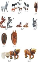 Kiemo dekoracijos figūros