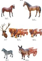 Kiemo dekoracijos, figūros, lauko sodo statuleles, statulos, dekoratyvinės skulpturos, gyvunu figurėlės, kiemo dekoravimas, nykstukas, stIrnos, erelis, gandras, arklys, asilas