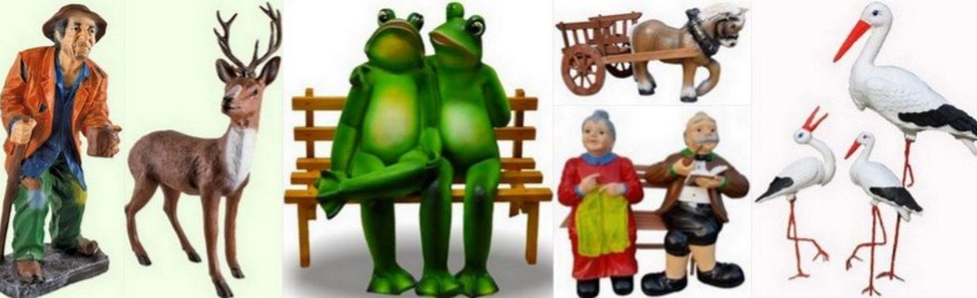 Sodo dekoracijos-kiemo-skulpturos-darzo-statulėlės-sodo-figuros