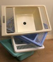 Vonelė su skalbimo lenta