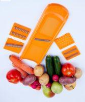 Vaisių ir daržovių daugiafunkcinė trintuvė