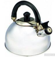 virdulys metalinis 2,5 litrų su švilpuku