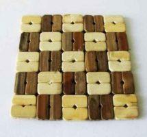 bambukinis padėkliukas puodams