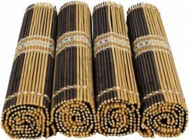 Bambukiniai stalo kilimėliai
