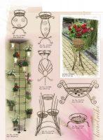 gėlių stovas, stovai gėlėms, metaliniai baldai, interjeras, interjero detalės, interjero aksesuarai