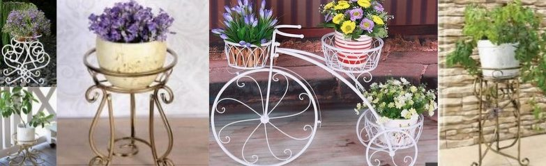 Gėlių-stovai-metaliniai-stovai-gėlėms-interjero-detalės