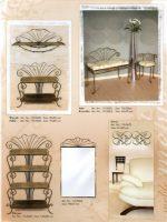 interjeras, stalas, baldai,kušetės, kedės,interjero detalės, metalines zvakides, įrankiai prie židinio, pakabos, stovai gelems, geliu stovas, metaliniai baldai, dirbiniai iš metalo