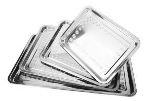 Metaliniai padeklai maistui