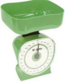 virtuvinės svarstyklės - 1kg